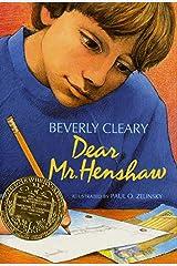 Dear Mr. Henshaw (Leigh Botts Book 1) Kindle Edition