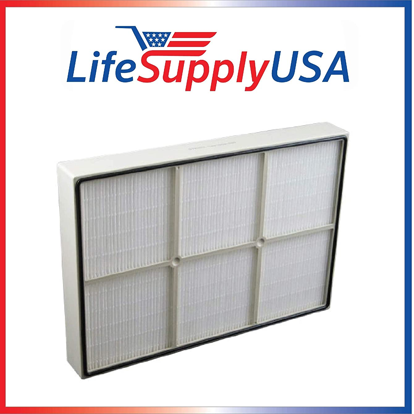 LifeSupplyUSA True HEPA Replacement Filter for Kenmore 83353, 83374, 83234, Small 1183051 Sears Kenmore Air Cleaner