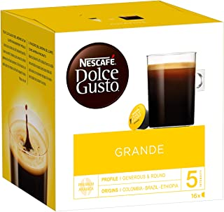 Nescafé Dolce Gusto Grande - Café - 48 Capsules (Pack de 3 boîtes x 16)
