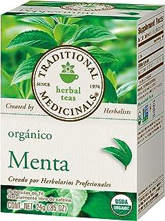 Traditional Medicinals, Te Orgánico De Menta, 24 Gr., 16 Bolsitas De Té