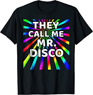 mr disco shirt