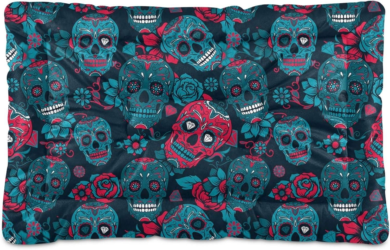Dog Bed Mat Halloween Theme Terror Myst Tampa Mall Skull Diamond Horrifying Seasonal Wrap Introduction