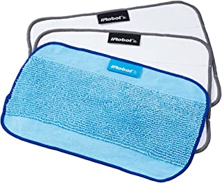Irobot Microfibre Cloth 3 Pack, White And Blue