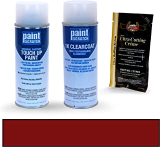 PAINTSCRATCH Barcelona Red Mica Metallic 3R3 for 2010 Toyota Corolla - Touch Up Paint Spray Can Kit - Original Factory OEM Automotive Paint - Color Match Guaranteed