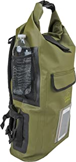 Relentless Recreation Dry Bag Backpack | 30L Waterproof - 500D PVC Tarpaulin | Splash Proof Cell Phone Pocket | Rolltop Drybag for Kayaking, Boating, Hiking, Camping, Fishing & All Water Sports.
