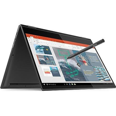 "Lenovo Yoga C630 - Portátil Convertible 13.3"" FullHD - (Qualcomm Snapdragon 850, 8GB RAM, 256GB SSD, Integrated Qualcomm Adreno 630 Graphics, Windows 10 Home en modo S), Gris - Teclado QWERTY Español"