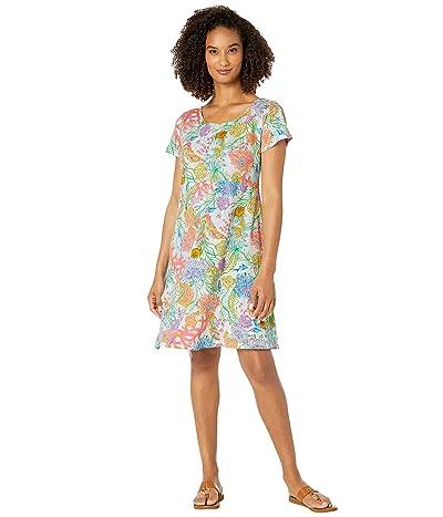 Fresh Produce Oceanscape Sadie Dress (White) Women