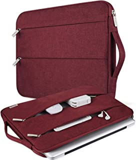 V Voova 14-15.6 Inch Laptop Sleeve Carry Case Waterproof Computer Chromebook Bag Protective Cover with Handle Compatible for MacBook Pro Retina 15.4