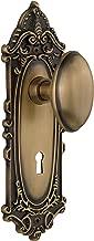 لوحة فيكتورية من Nostalgic Warehouse مع مقبض هومستيد ذو فتحة مفاتيح