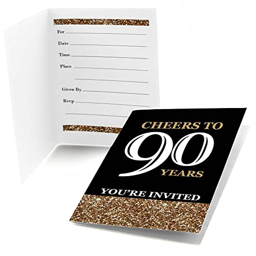 90th Birthday Invitation Amazon