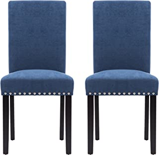 Best navy blue parsons chairs Reviews