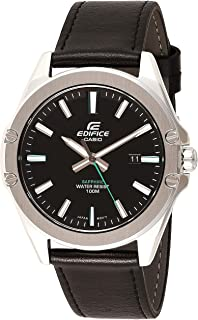 Casio Edifice Analog Black Dial Men's Watch - EFR-S107L-1AVUDF (EX510)