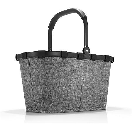 Reisenthel carrybag Frame Twist Silver Einkaufskorb, 48 cm, 22L