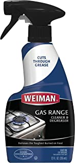 Weiman Gas Range Cleaner and Degreaser – 12 Ounce – Packaging May Vary