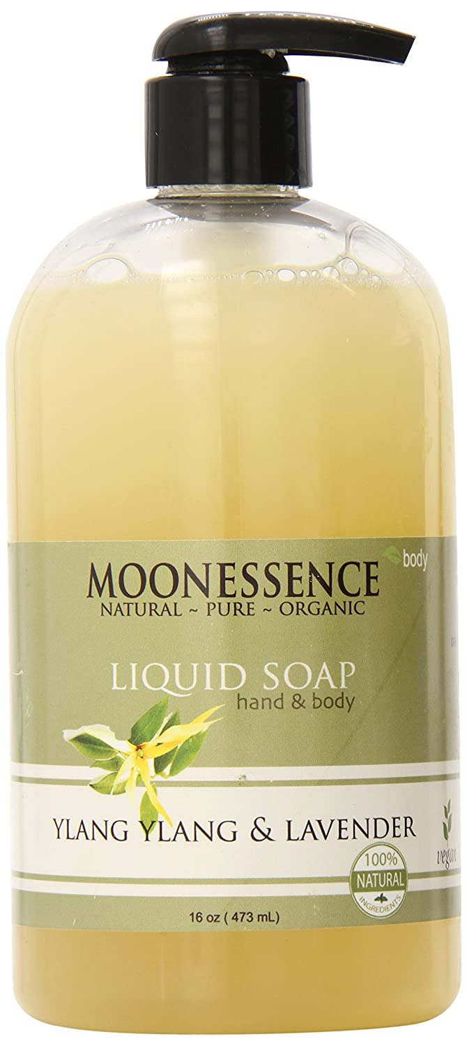 Moonessence Ylang Bath and Body Liquid All El Paso Mall stores are sold 16 Lavender Soap Ounce