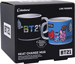 Line Friends BT21 Official Merchandise - Heat Change Coffee Mug