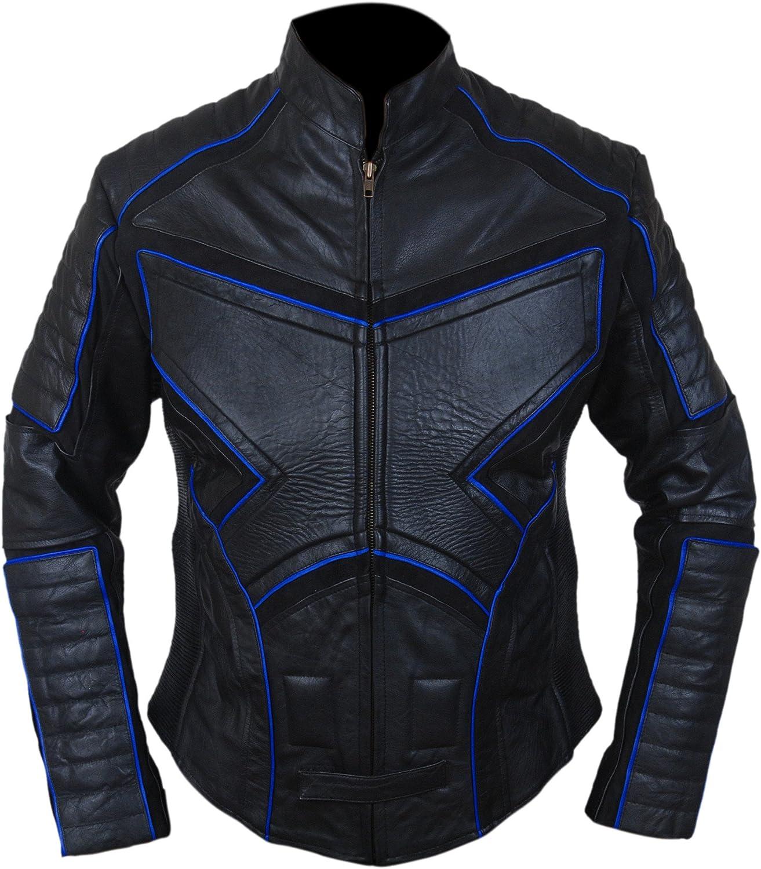 F&H Kid's Superhero Men United Genuine Leather Jacket