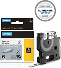 DYMO Industrial Heat-Shrink Labels | Authentic DYMO Labels, For Tubing or Cables, (3/8