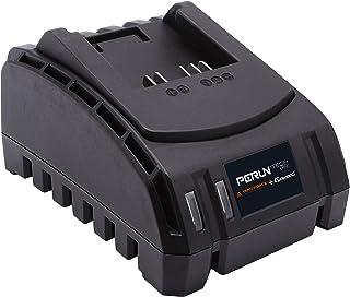 PERUN Solo lithium-ion oplader met LED AL C20C, voor alle Yard Force & PowerG 20V 2,0, 2,5Ah, 4,0 Ah compatibel, daarbij z...