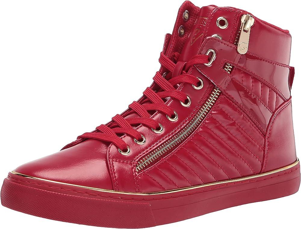 Guess million scarpe sneakers da uomo in pelle GMMILLION