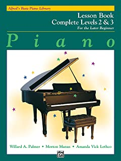 Alfred'S Basic Piano Library Lesson 2-3 Complete: For the Late Beginner