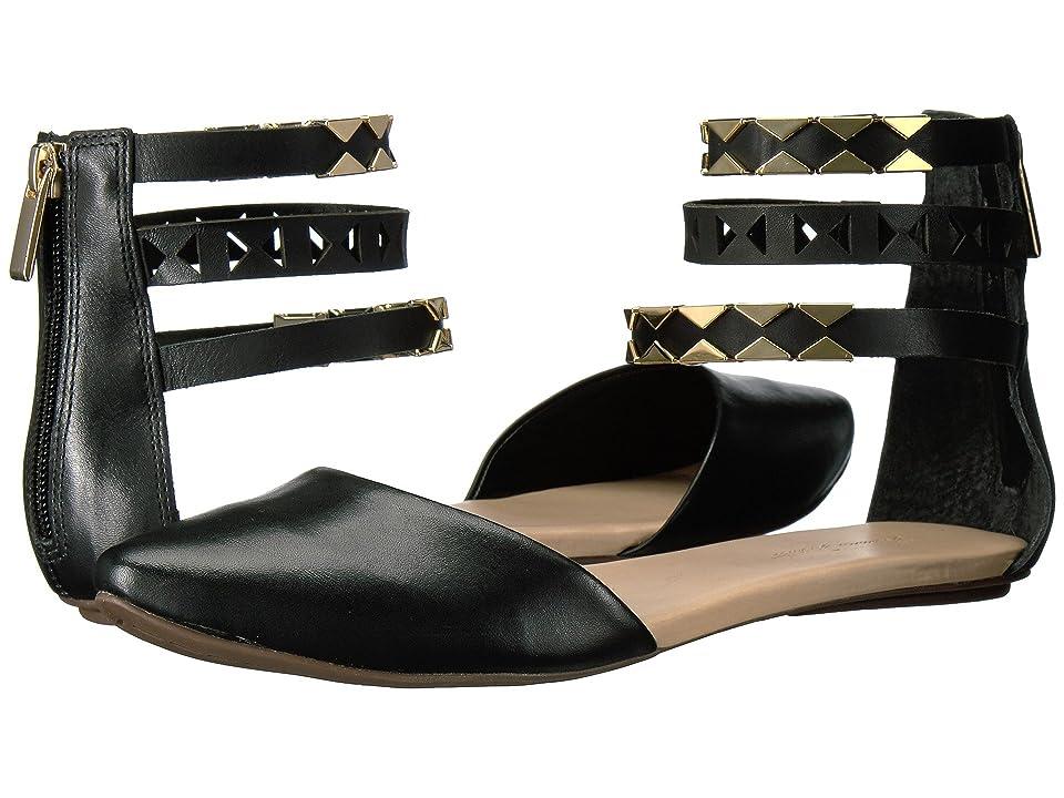Massimo Matteo Ankle Strap Sandal (Black) Women