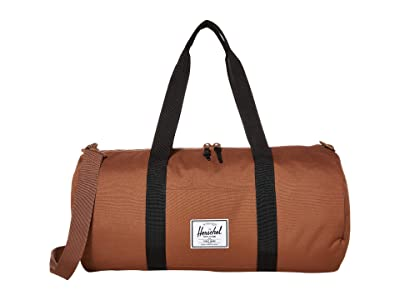 Herschel Supply Co. Sutton Mid-Volume (Saddle Brown/Black) Duffel Bags