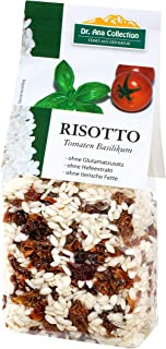 Dr. Ana Collection - Risotto Reis mit Tomaten Basilikum 200g 5 Beutel - auch erhältlich als 1 bis 7 Beutel