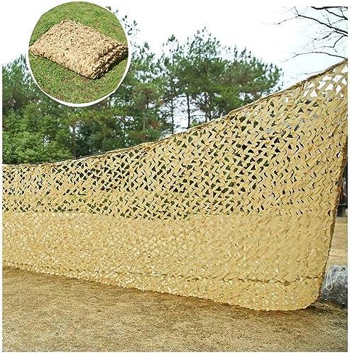 Qjifangzyp Voile d'ombrage de Camouflage, Tente de Prougeection Solaire de 3x4m for Les Jeux for Enfants Chasse à l'ombre de tir Camping décoration de Jardin Couverture de Voiture 2x3m (Taille   6  8M)