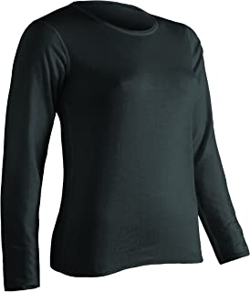 Women's Platinum Plus-Size - For My Size Only Dual Layer Crew-Neck Top