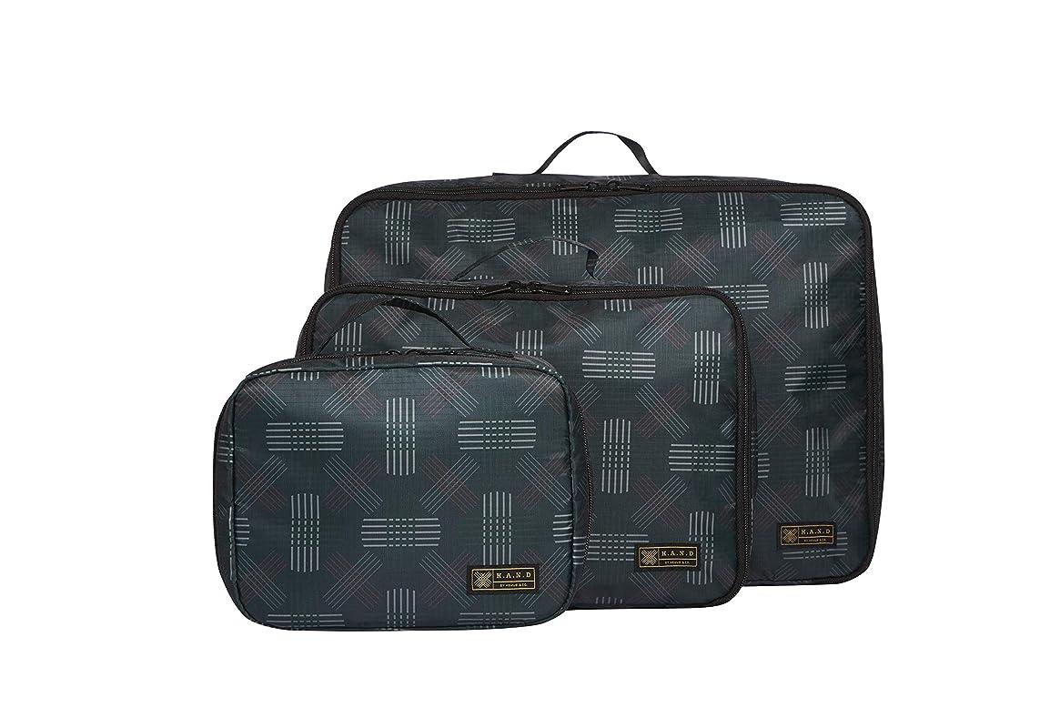 唯物論留め金統治可能H.A.N.D ハンド Storage Bag Set 3個1セット 超軽量 撥水 トラベルバッグ 仕分けケース