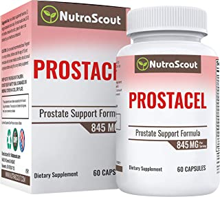 Prostacel Prostate Supplement for Men | Saw Palmetto, Beta Sitosterol, Nettle, Pygeum, Broccoli Extract, Pumpkin Seed | Re...