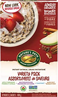 Nature's Path Variety Pack Instant Oatmeal, Healthy, Organic, Variety pack, Pack of 6