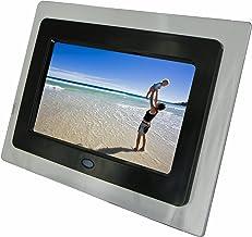 Moldura digital para foto KITVision de 7 polegadas – preta