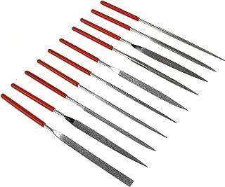 SE 10-Piece Diamond Needle File Set with 150 Grit