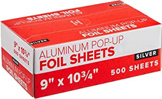 "Endless Good Stuff Aluminum interfiled Foil Pop Up Sheets-Foodservice-Pop Up Foil Sheets for Food Wraps for Restaurants 9""..."