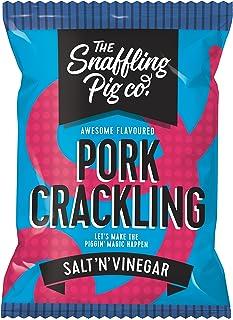 Snaffling Pig Salt N Vinegar Pork Crackling, 45 g