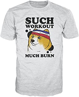 Doge Dog Such Workout Funny T-Shirt