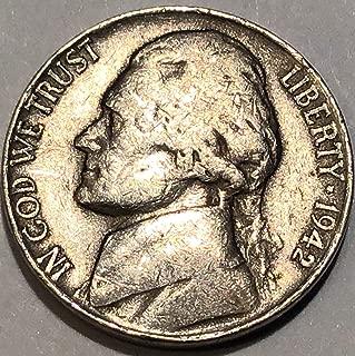 1942 D Jefferson Nickel Fine