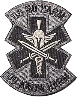 Do No Harm Do Know Harm Spartan Medic Emt Ems Us Morale Badge Acu Patch