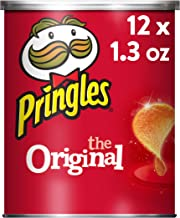 Pringles Potato Crisps Chips, Original, 1.3oz (12 Count)