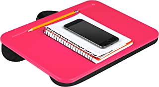 LapGear Compact Lap Desk - Fuschia - Fits up to 13.3 Inch Laptops - Style No. 43101