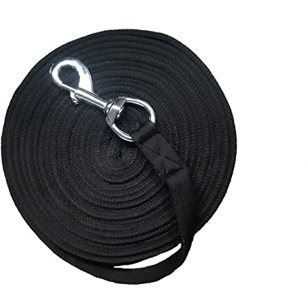 SHIRES WESSEX SOFT FEEL LUNGE LINE 8 METRES//26 FOOT ASSORTED COLOURS 4231