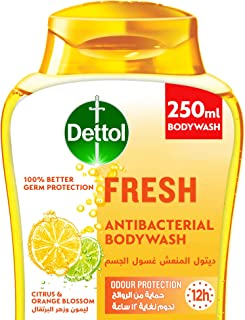 Dettol Fresh Shower gel & Bodywash for effective Germ Protection & Personal Hygiene (protects against 100 illness causing ...