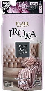 フレアフレグランス 柔軟剤 IROKA(イロカ) HomeLuxe(ホームリュクス) パウダリーピオニーの香り 詰め替え 480ml