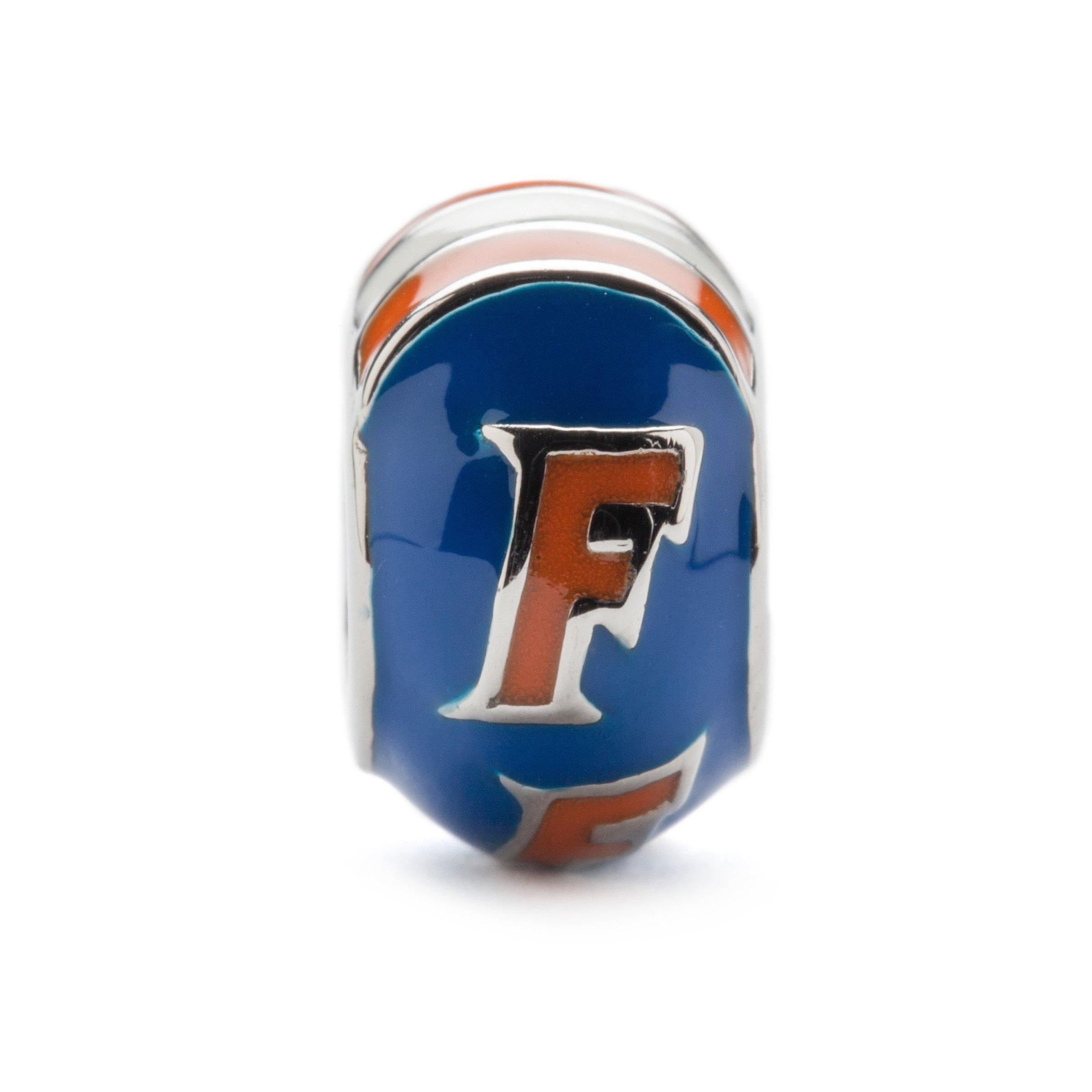 フロリダ大学ビーズのステンレス鋼ジュエリー、Ä¢¢手描きのUFジュエリー»ユニバーシティギフト»最も人気のあるペンダントブレスレットに最適