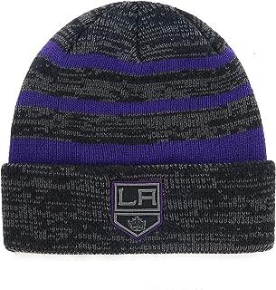 OTS NHL Men's Black Line Cuff Knit Cap