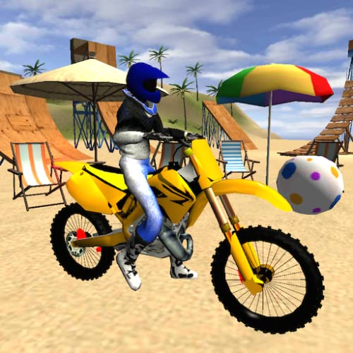 Motocross Beach Jumping 2 - Motorcycle Stunt & Trial Game
