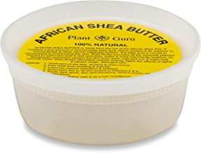 Raw African Shea Butter 8 oz Unrefined Grade A 100% Pure Natural Ivory/White From Ghana DIY Crafts, Body, Lotion, Cream, lip Balm, Soap Making, Eczema, Psoriasis And Aid Stretch Marks