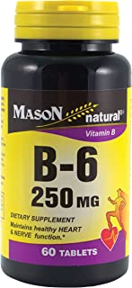 MASON NATURAL, Mason Natureal Vitamin B-6 250 mg Tablets, 60 Ea